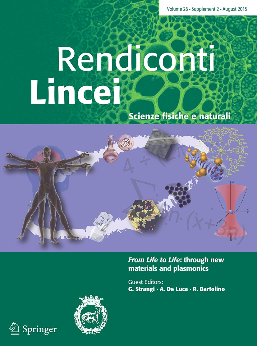 Cover Lincei